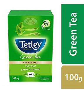 TETLEY GREEN TEA LONG LEAF100g