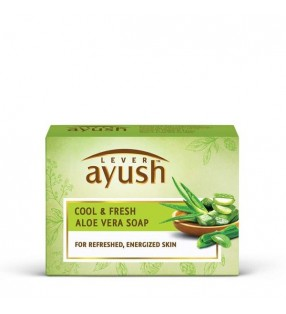 AYUSH C&F ALOEVERA SOAP 100G