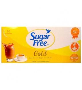 SUGAR FREE GOLD 50 SACHETS