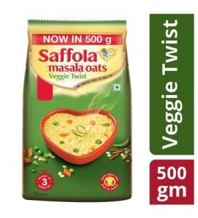 SAFFOLA MASALA OATS VEGGIE TWIST 500g