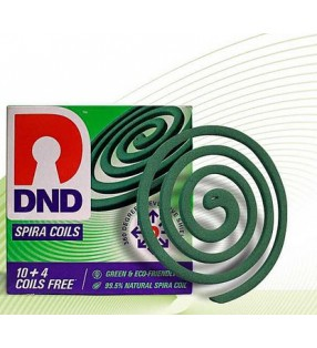 DND SPIRA MOSQUITO 10+4+COILS