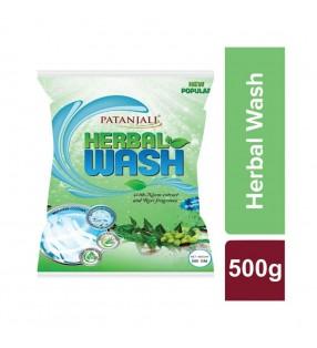 PATANJALI HERBAL WASH ROSE FRAGRANCE 500G