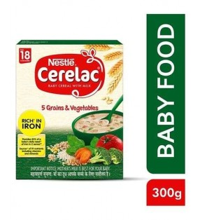 NESTLE CERELAC 5GRAINS & VEGETABLES(8-24 MONTHS)