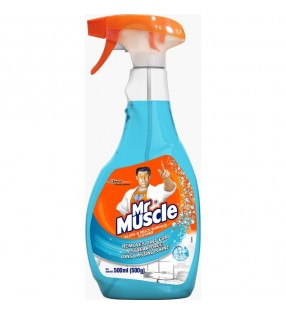 MR MUSCLE GLASS & HOUSEHOLD CLEANER 500ML