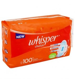 WHISPER CHOICE WINGS 20 PADS