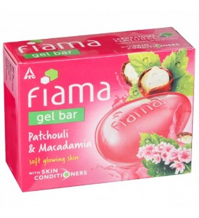 FIAMA GEL BAR PATCHOULI & MACADAMIA 75G