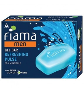 FIAMA MEN GEL BAR REFRESHING PULSE BUY 3 GET 1