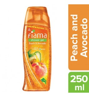 FIAMA SHOWER GEL PEACH & AVOCADO 250ML