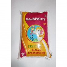 GAJAPATHY REFINED GROUNDNUT OIL 1 LTR