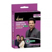VCARE HAIR COLOUR BLACK 25 ML