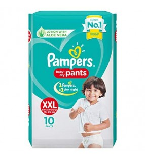 PAMPERS  PANTS XXL-10PANTS