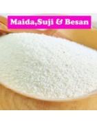 Suji Maida Besan Flour Branded and High Quality